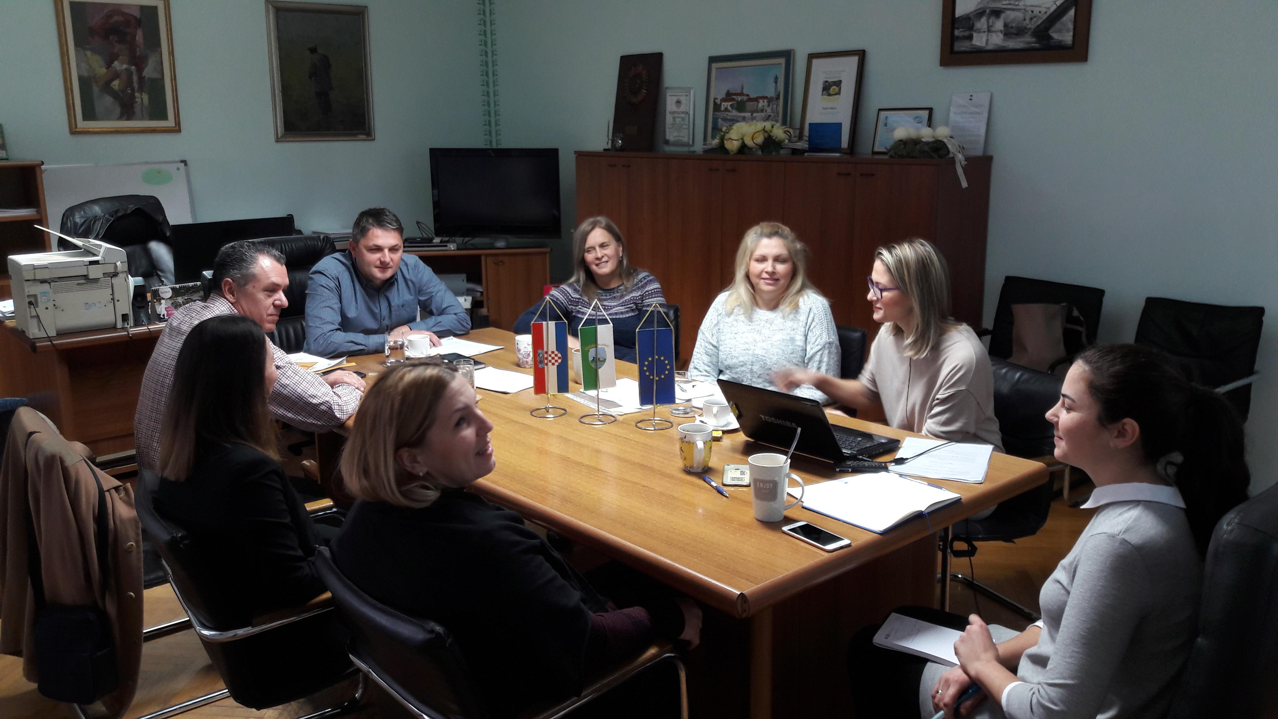 Drugi sastanak Projektnog time i Upravnog odbora