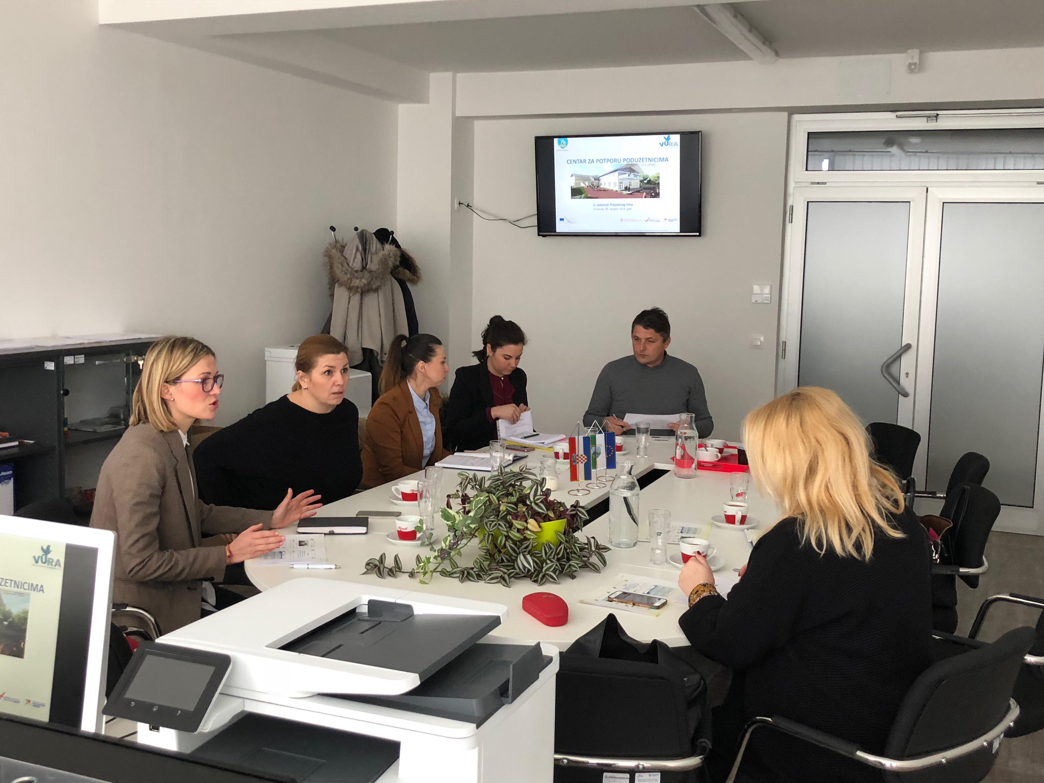 Treći sastanak Projektnog tima i Upravnog odbora