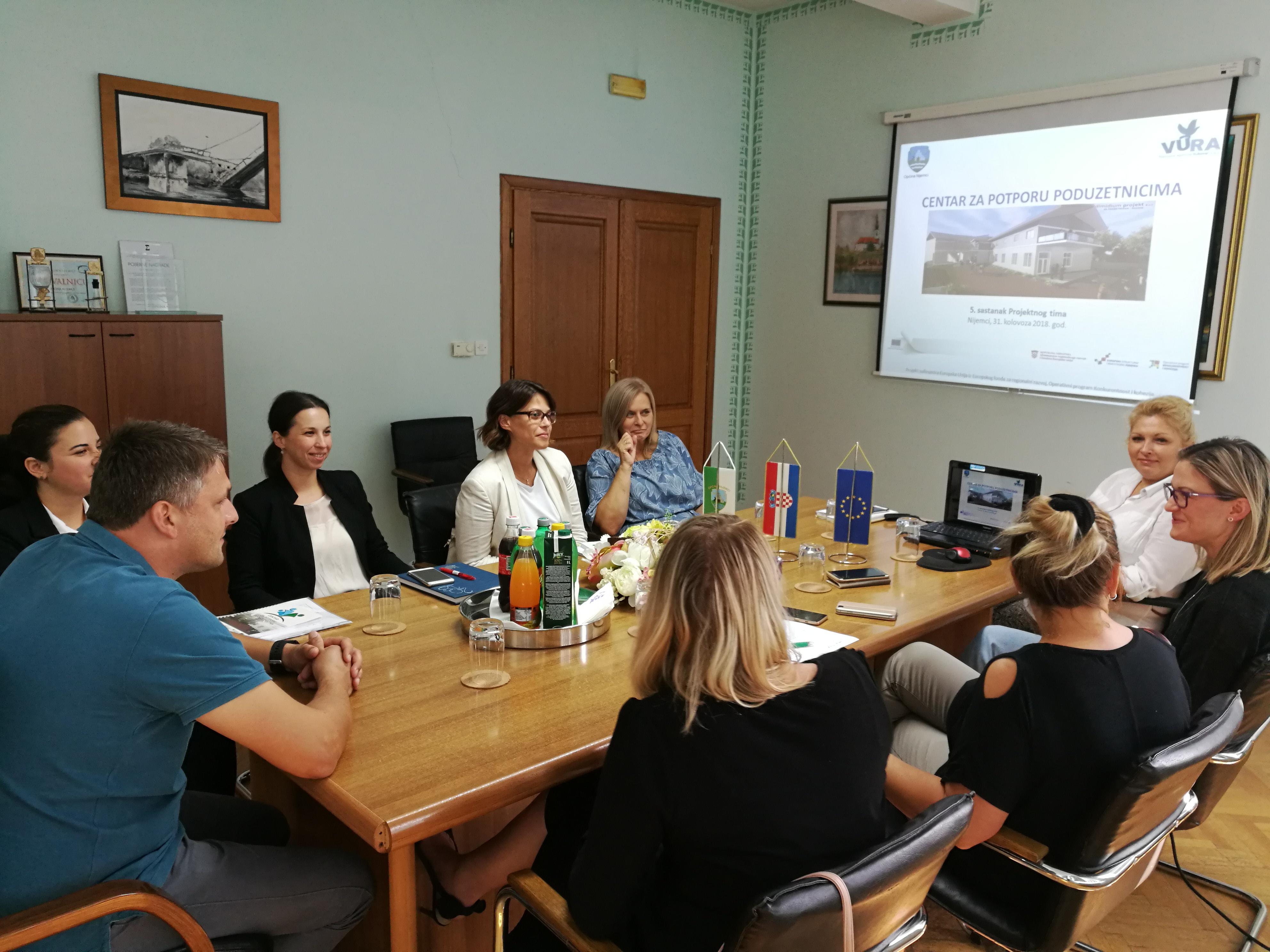 Peti sastanak Projektnog tima i Upravnog odbora