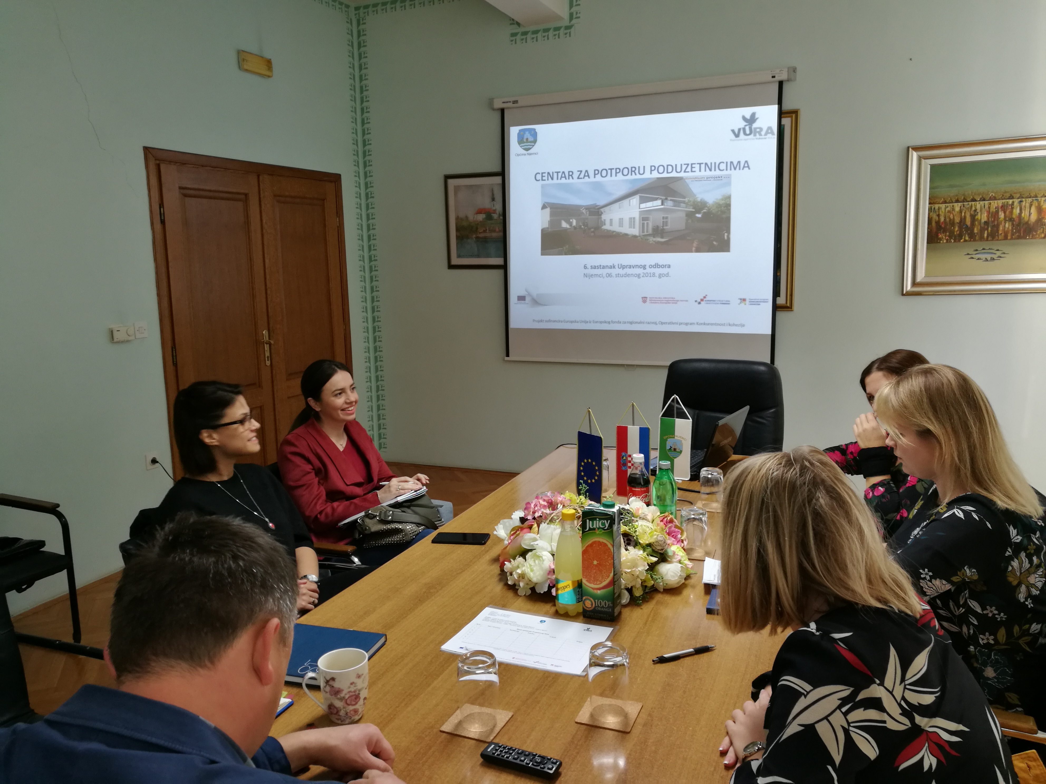 Šesti sastanak Projektnog tima i Upravnog odbora